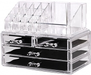 Makeup and Jewelry Organizer – 2 Piece Set
