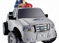 MATTEL Power Wheels Ford Lil' F-150 , Silver
