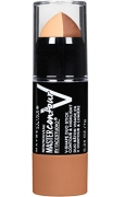 Maybelline New York Facestudio Master Contour V-Shape Duo Stick, Light, 0.24 Ounce