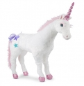 Melissa & Doug Giant Unicorn – Lifelike Stuffed Animal (over 2 feet tall)