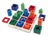 Melissa & Doug Shape Sequence Wooden Sorting Set and Educational Toy