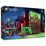 Microsoft Xbox One S 1TB Limited Edition Minecraft Bundle
