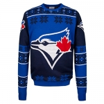 MLB Toronto Blue Jays Big Logo Sweater, Blue, Large