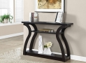 Monarch Specialties I 2445 Hall Console Accent Table, 47″, Cappuccino
