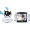 Motorola MBP36S Wireless Video Baby Monitor with 3.5 Inch Color LCD Screen