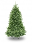 National Tree 7.5 Foot Dunhill Fir Christmas Tree, Hinged