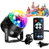 Nequare Disco Lights Sound Activated Strobe Light Disco Ball Dj Lights