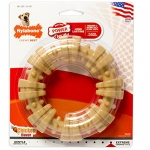 NYLABONE Durachew Textured Ring Chews, Chicken Flavor, Souper, Each
