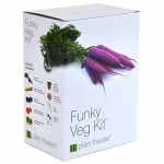 Plant Theatre Funky Veg Kit – 5 Extraordinary Vegetables in a Grow Kit
