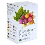 Plant Theatre Psychedelic Salad Kit – 5 Fantastic Salad Vegetables to Grow