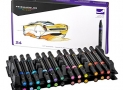 Prismacolor Premier Double-Ended Art Markers, Fine and Chisel Tip, 24-Count