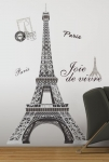 RoomMates Eiffel Tower Peel and Stick Giant Wall Decal