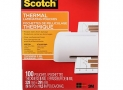 Scotch Thermal Laminating Pouches, 8.97-Inch x 11.45-Inch (Per Pouch), 5-Mil Thickness, 100 Pouches Per Pack