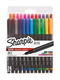 Sharpie Art Pens, Fine Point, Assorted Colors, 24 Count (1983967)