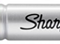 Sharpie King Size Permanent Marker, Chisel Tip, Red, 12 Pack