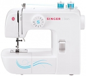 Singer 1304 Start Basic Everyday Free Arm Sewing Machine with ZigZag, Blind Hem Stitches and More