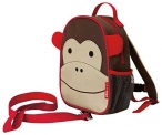 Skip Hop Zoo Little Kid and Toddler Safety Harness Backpack, Marshall Monkey