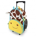 Skip Hop Zoo Little Kid & Toddler Rolling Luggage, Jules Giraffe