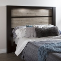 South Shore Furniture Gloria King Headboard with Lights, 78-Inch