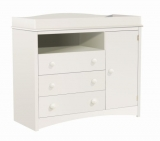 South Shore Furniture Peek-a-Boo Collection Changing Table