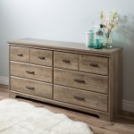 South Shore Furniture Versa 6-Drawer Double Dresser