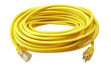 Southwire 2588SW Outdoor Extension Cord- 12/3 SJTW Heavy Duty 3 Prong Extension Cord- Great for Commercial Use, Gardening, and Major Appliances ( 50 Foot- Yellow)