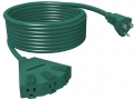 STANLEY Grounded 3-Outlet Outdoor Power Extension Cord 3