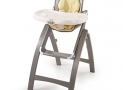Summer Infant Bentwood High Chair Chevron Leaf