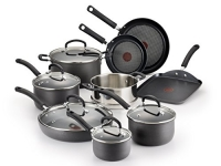 T-fal E918SE Ultimate Hard Anodized Durable Nonstick Expert Interior Thermo-Spot Heat Indicator