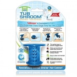 TubShroom TSBLU454 The Revolutionary Tub Drain Protector Hair Catcher/Strainer/Snare