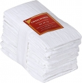 Utopia Kitchen Flour Sack Pure Cotton Dish Towels (28in x 28in), 12 Pack