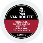 Van Houtte Original House Blend Single Serve Keurig Certified K-Cup pods for Keurig brewers, 18 Count