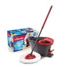 Vileda EasyWring Microfibre Spin Mop & Bucket Floor Cleaning System