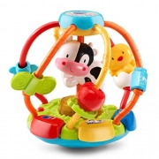 VTech Baby Lil' Critters Shake & Wobble Busy Ball Toy