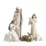 Willow Tree Nativity, 6-piece set of figures by Susan Lordi
