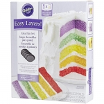 Wilton Easy Layers! 5-Piece Cake Pan Set, 6-Inch