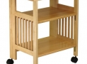 Winsome Wood Foldable Mission Cart, Natural