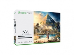 Xbox One S 500GB Console – Assassin's Creed: Origins Bundle